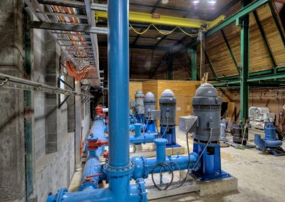 Water Pumping Station industrial photoshoot