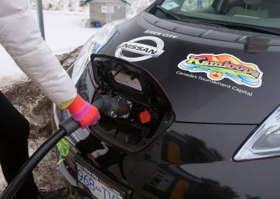 ABB & City of Kamloops electric vehicle advertising campaign