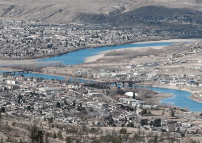 Commercial photoshoot of the City of Kamloops