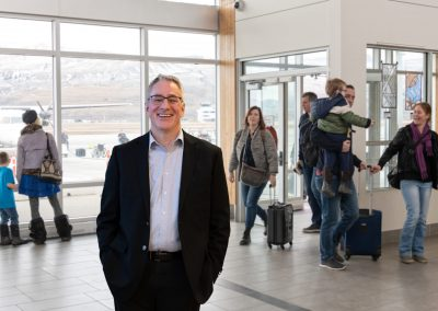 Commercial Photoshoot for Vantage Airport Group in Kamloops, BC