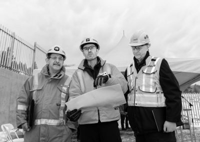 Industrial photoshoot for BC Hydro