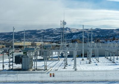 Industrial photoshoot of sub-station