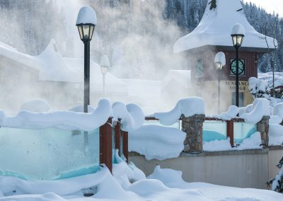 Commercial photoshoot at Sun Peaks Resort