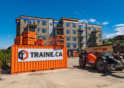 Industrial photography photoshoot for large construction company