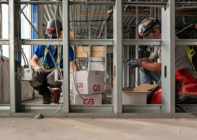 Industrial Commercial photoshoot for Traine Construction