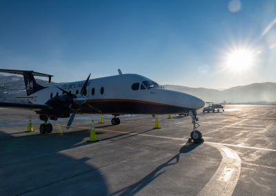 Commercial Photoshoot for Pacific Coastal Air